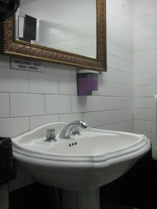 Blue Note men's sink