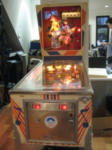 Blue Note office pinball