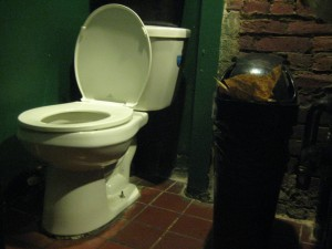 55 Bar ladies toilet