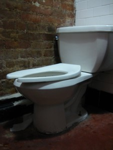 The Underground women's toilet