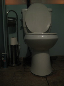 Shell's Bistro toilet