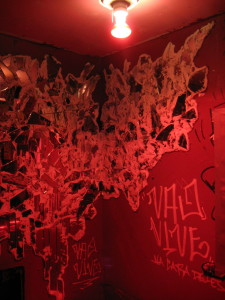 Nublu downstairs restroom