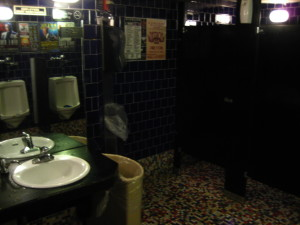 BB King Mens room