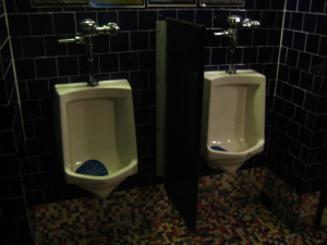 BB King Mens urinals
