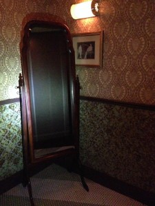 The Flatiron Room women's mirror