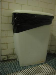 Silvana trash bin